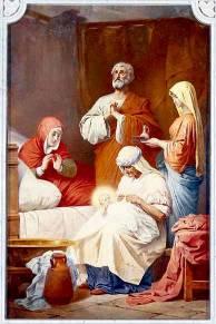 Рассказ о том, как родилась Дева Мария