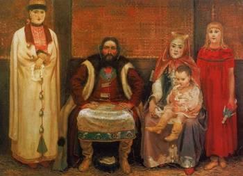 Семья на Руси