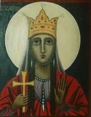 Святая мученица царица Кетевань - житие