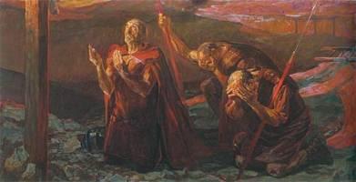 Мученик Лонгин Сотник – иже при Кресте