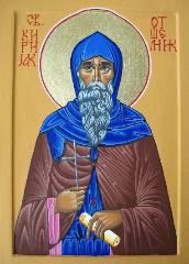 Преподобный Кириак - житие