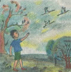 Журавлиная родина – рассказ детям