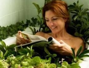 Успокоительные травяные ванны