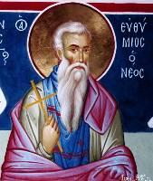 Преподобный Евфимий Новый - житие