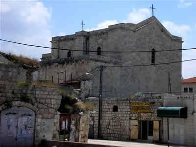 Освящение храма великомученика Георгия в Лидде