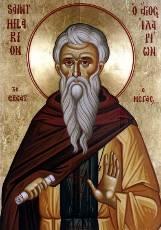 Преподобный Иларион Великий - житие