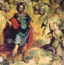 Мученик Ерминингельд, царевич Готский - житие