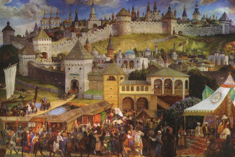 Казань во времена Казанского ханства