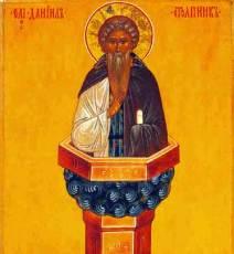 Преподобный Даниил Столпник - житие