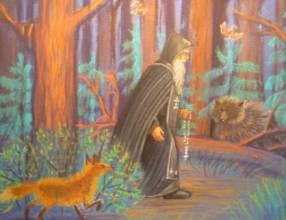 Преподобный Нил Столбенский - житие