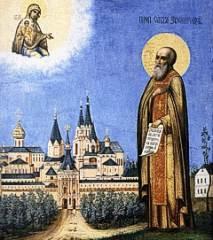 Преподобный Савва Сторожевский - житие