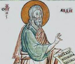 Святой пророк Авдий - житие