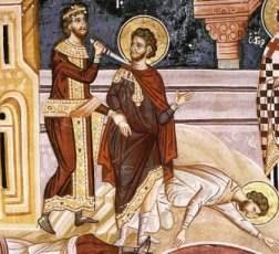 Святые мученики Мина, Евграф и Ермоген