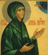 Святая Анна, мать пророка Самуила - житие