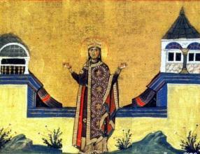 Блаженная царица Феофания - житие