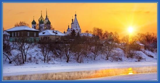 Зимние рисунки на рабочий стол, Храмы, православные, фоны, обои