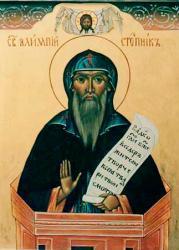 Преподобный Алипий Столпник - житие
