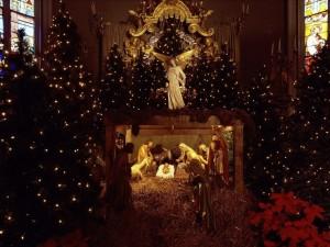 Рождественские обои на рабочий стол