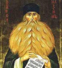 Преподобный Максим Грек — житие