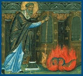Священномученик Ипатий Гангрский – житие