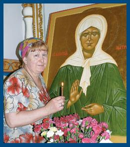 Верный друг - святая Матрона. Стихи