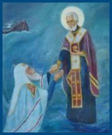 Святитель Николай спасает патриарха
