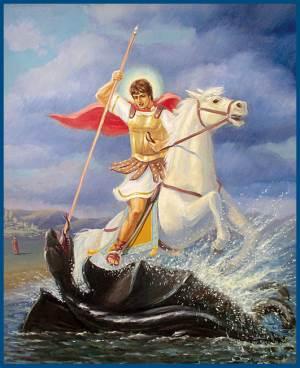 Стихи о великомученике Георгие Победоносце!