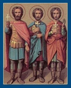 Мученики Самуил, Савел и Исмаил