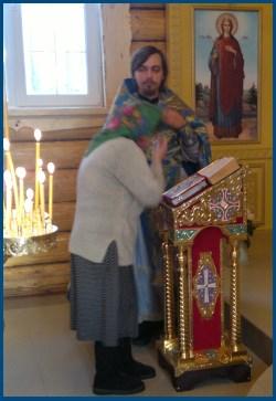 Отец Димитрий Синявин на Исповеди