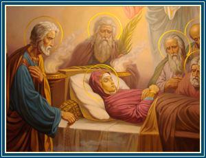 Успение Божией Матери - икона