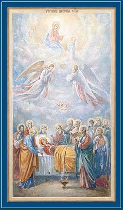 Успение Пресвятой Богородицы - икона