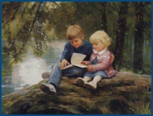 Чтение, книг
