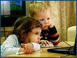 Дети, компютер