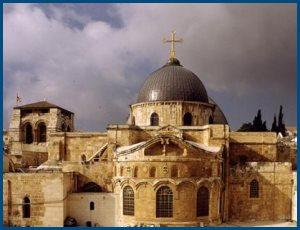 Слово на обновление иерусалимского храма Воскресения Христова