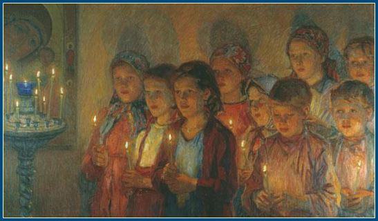 Молитва перед учением