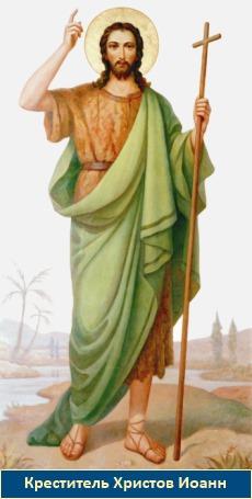 Пророк и Креститель Иоанн