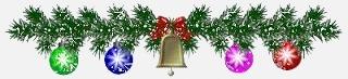 Рождественская гирлянда - украшение