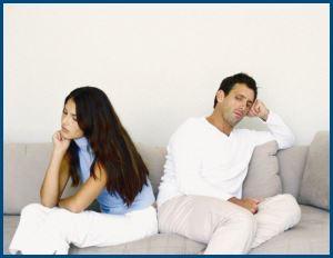 Муж и жена, ссора