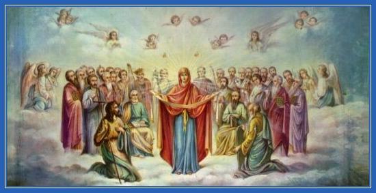 Покров Богородицы, Ангелы