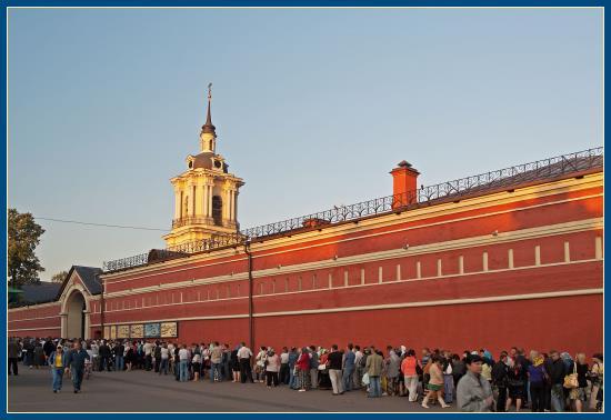 Покровский монастырь - святая Матрона