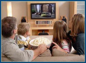 телевизор, просмотр