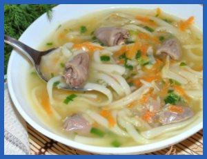 Суп - первое блюдо