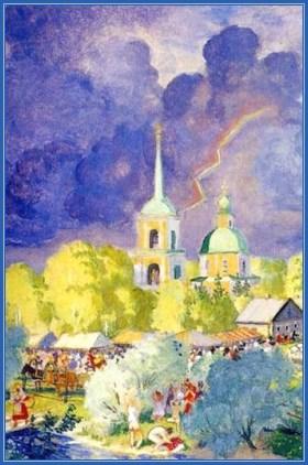 Гроза, церковь