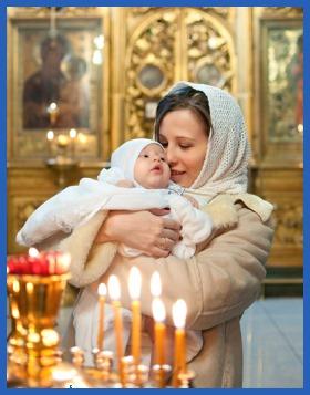 Ребенок, в храме