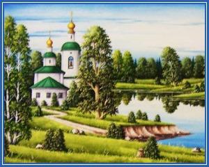 Россия - храм, природа