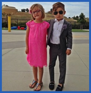 Современны дети, мода