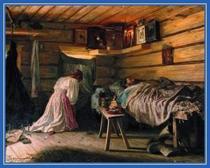 Болезнь, больной, молитва
