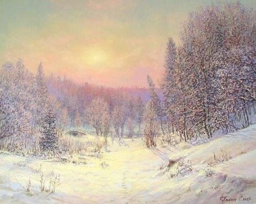 Нежность зимы. Царицино