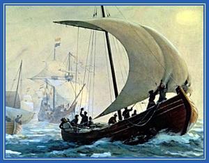Казаки, корабль