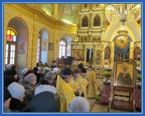 Храм. Святая Матрона Московская